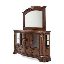 Sideboard W/mirror Royal Sienna