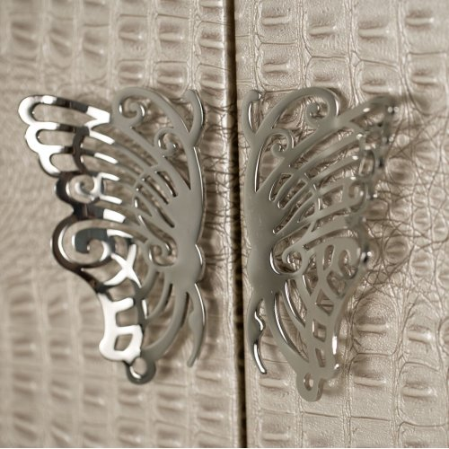 Upholstered Swivel Lingerie Chest