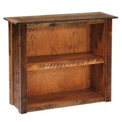 Barnwood Medium Bookshelf - Barnwood Legs