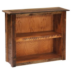 Barnwood Large Bookshelf - Barnwood Legs
