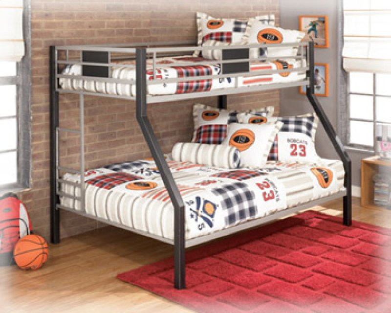 B10656 twin full bunk bed by ashley furniture behar 39 s for Bedroom furniture 98203