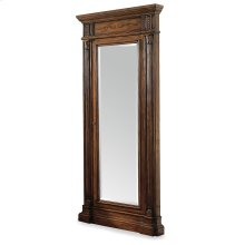 Accents Floor Mirror w/Jewelry Armoire Storage