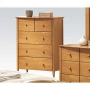 Maple Chest W/5 Drawers Product Image