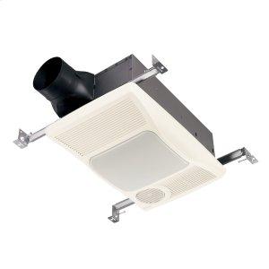 BroanBroan® Heater/Fan/Light 100 CFM Ventilation Fan, 1500W Heater, 27W Fluorescent Light, 2.0 Sones