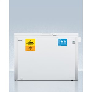 SummitLaboratory Chest Freezer Capable of -35 C (-31 F)operation With Dual Blue Ice Banks