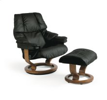 Stressless Reno Small Classic Base Chair and Ottoman