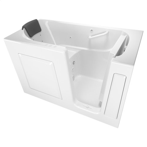 Premium Series 30x60 Combo Massage Walk-in Tub, Right Drain  American Standard - White