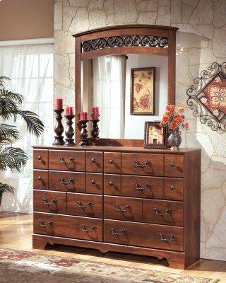 Timberline Dresser and Mirror