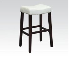 COUNTER HEIGHT STOOL W/WH PU