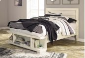 Blinton - White 3 Piece Bed Set (Queen)
