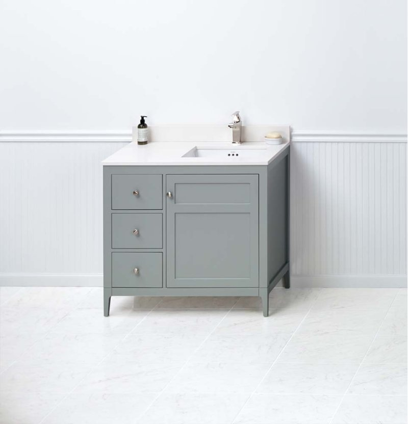RF In Ocean Gray By Ronbow In Raleigh NC Briella - Bathroom vanities raleigh