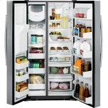 GE Profile Series 28.2 Cu. Ft. Side-by-Side Refrigerator