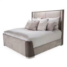 Cal King Dual-panel Bed (3 Pc)