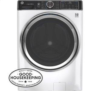GE®5.0 cu. ft. Capacity Smart Front Load ENERGY STAR® Steam Washer with SmartDispense™ UltraFresh Vent System with OdorBlock™ and Sanitize + Allergen