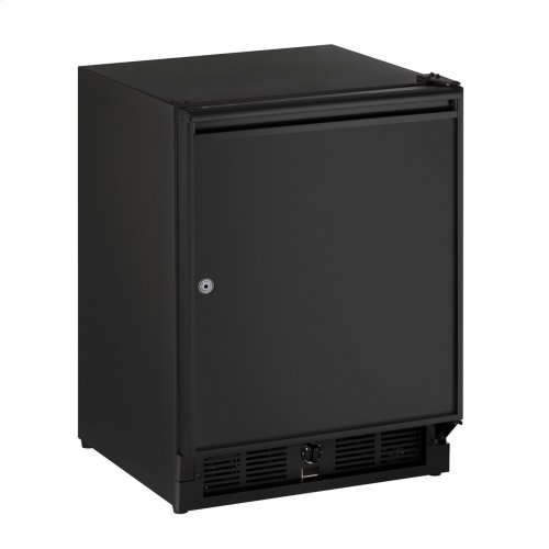 """Ada Series 21"""" Ada Solid Door Refrigerator With Black Solid (lock) Finish and Right-hand Hinge Door Swing (115 Volts / 60 Hz)"""