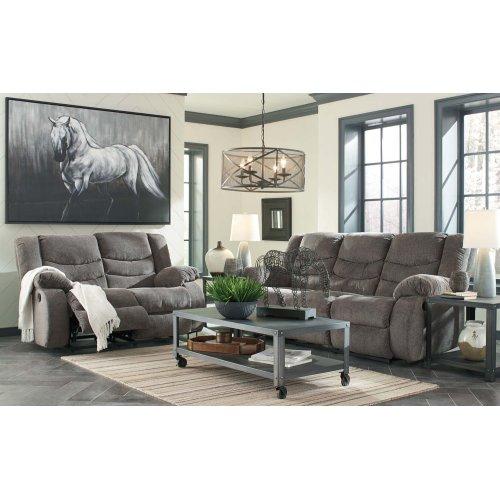 Tulen Reclining Sofa - Gray