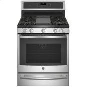 """30"""" Smart Free-Standing Gas Convection Range with Warming Drawer"""