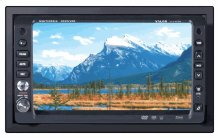 "AM/FM/CD/DVD 2DIN In-Dash Fully Motorized 6.5"" Touch Screen LCD"