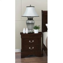 Louis Philippe Two-drawer Nightstand