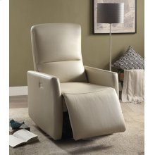 BEIGE POWER MOTION RECLINER