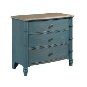 La-Z-BoyLitchfield Sundown Accent Chest Blue