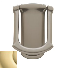 Non-Lacquered Brass Tahoe Knocker