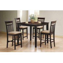 Casual Cappuccino Five-piece Dining Set