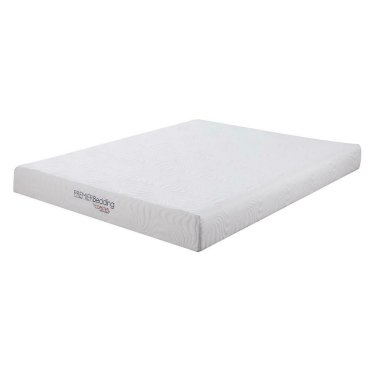 Keegan White 8-inch Twin Memory Foam Mattress
