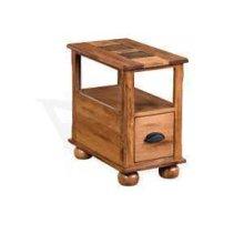 Sedona Chair Side Table w/ Drawer