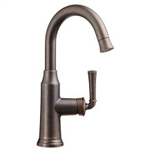 Portsmouth 1 Handle High Arc Pull Down Bar Sink Faucet  American Standard - Oil Rubbed Bronze