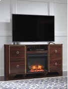 Lenmara - Reddish Brown 2 Piece Entertainment Set Product Image