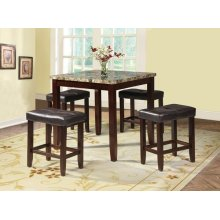 5PC PK COUNTER SET -FANCY FAUX
