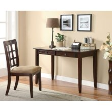 Casual Dark Amber Desk Set