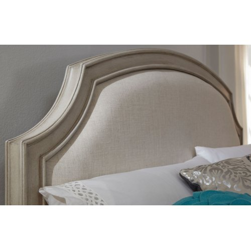 Emma Complete Upholstered Panel Bed - Queen 5/0