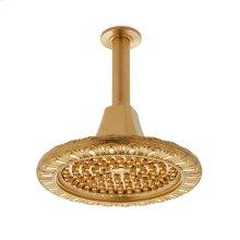 Antique Gold Egg & Dart Rain Dome with Nozzles