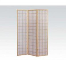 3-panel Natural Wooden Screen Product Image