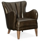 Living Room Treasure Leather Club Chair