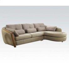 Wilko Sectional Sofa W/pillows