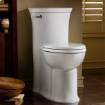 American StandardTropic FloWise Right Height Elongated One-Piece Toilet - 1.28 GPF - White