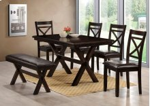 5009 Trevor COMPLETE; table & 4 chairs