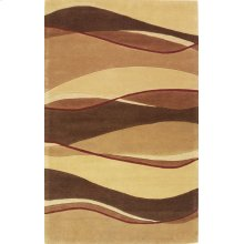 "Eternity 1074 Earthtone Landscapes 2'3"" X 7'6"" Runner"
