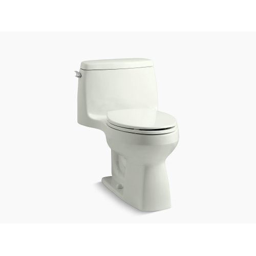 Dune Comfort Height One-piece Compact Elongated 1.28 Gpf Toilet With Aquapiston Flushing Technology and Left-hand Trip Lever