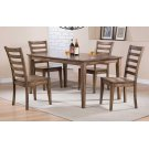 """60"""" Leg Table w/ 4 Chairs Product Image"""