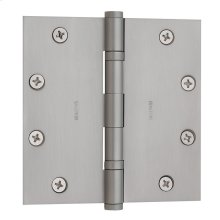Satin Chrome Ball Bearing Hinge
