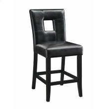 Newbridge Causal Black Counter-height Chair