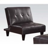 Espresso Pu Adjustable Chair Product Image