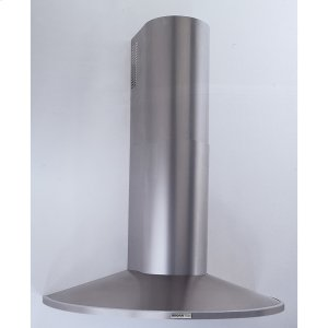 "Broan35-7/16"" (90cm) Stainless Steel Chimney Hood, 370 CFM Internal Blower"
