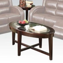 3PC PACK C/E TABLE W/GLASS TOP