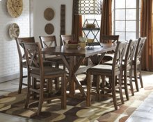 RECT DRM Counter EXT Table with 4 chairs