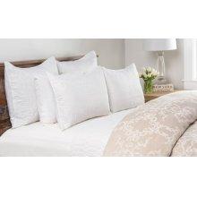 Cressida White Standard Sham 20x26
